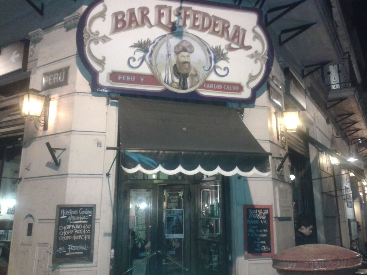 8dbf75d849245 Bar El Federal - Antigourmet